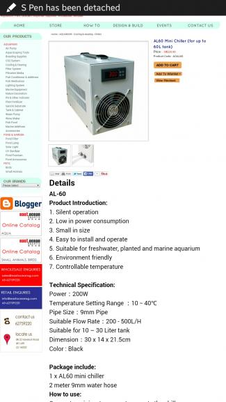 Any review on AL60 mini chiller (tec)